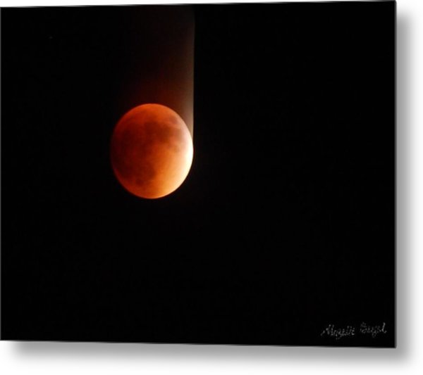 The Bouncing Eclipse Metal Print