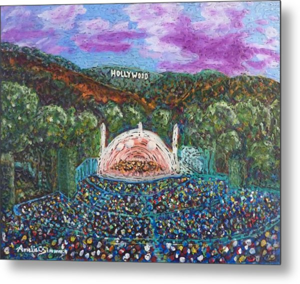Metal Print featuring the painting The Bowl by Amelie Simmons
