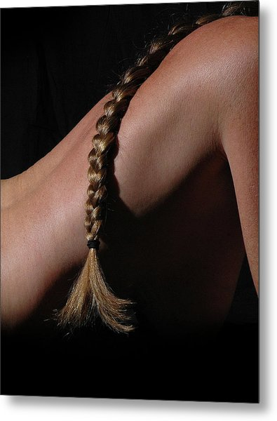 The Braid Metal Print