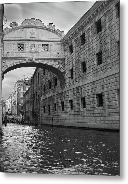 The Bridge Of Sighs, Venice, Italy Metal Print
