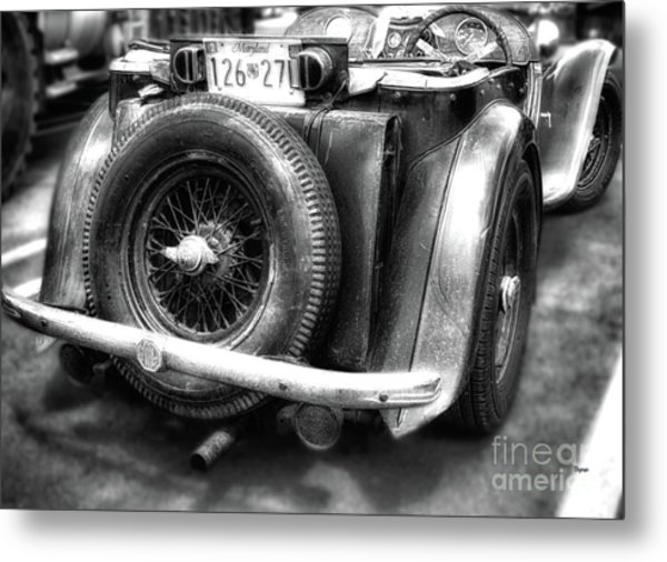 The British Mg  Metal Print by Steven Digman