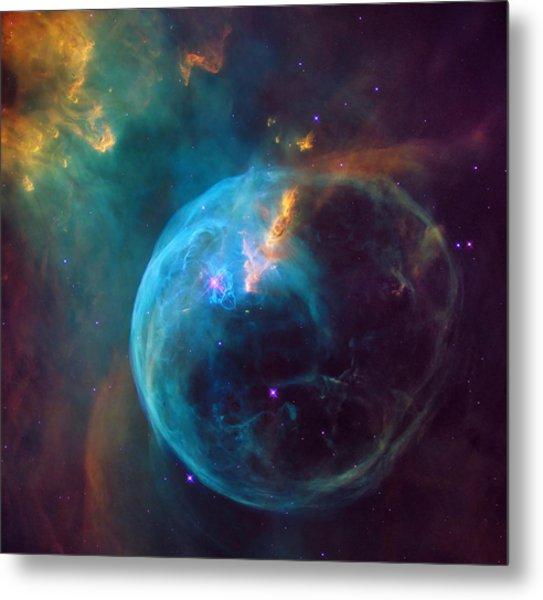 The Bubble Nebula Ngc 7653 Metal Print