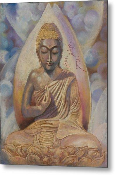 The Buddah Metal Print
