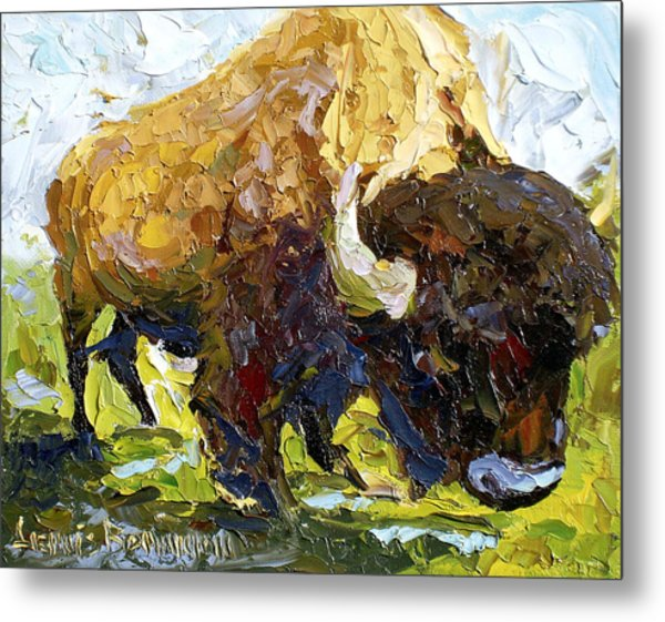 The Buffalo Metal Print