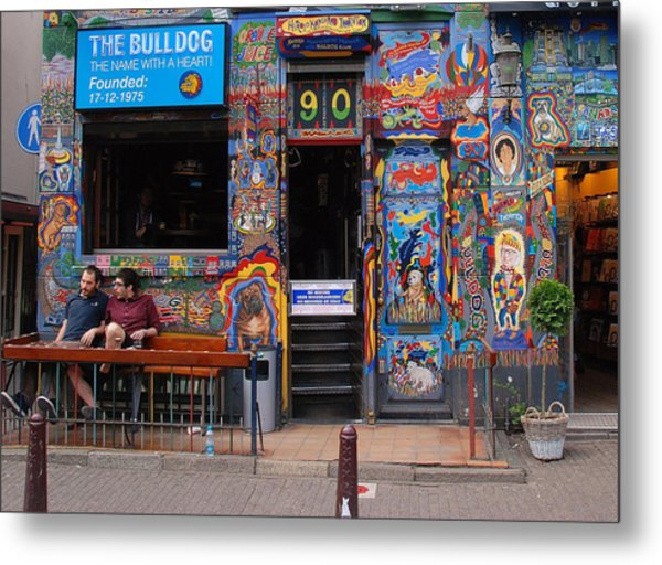 The Bulldog Of Amsterdam Metal Print