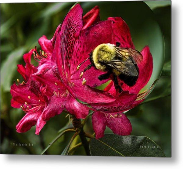 The Bumble Bee Metal Print