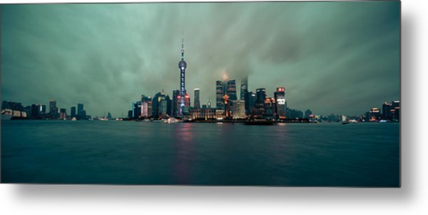 The Bund Metal Print
