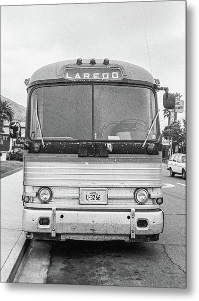 The Bus To Laredo Metal Print