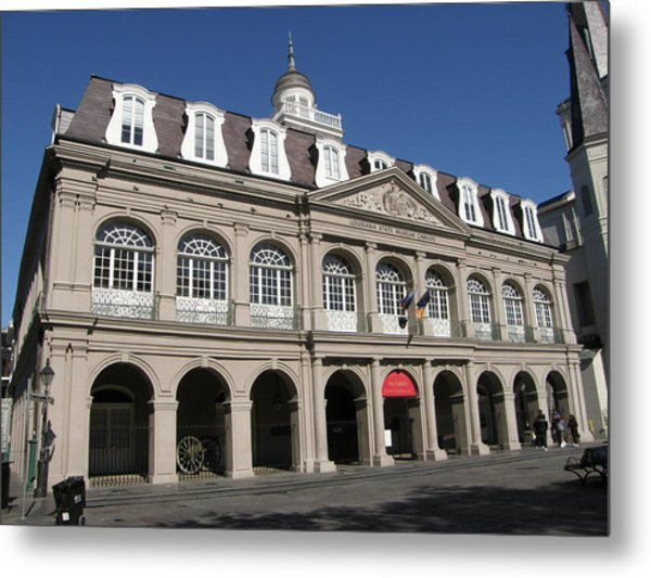 The Cabildo Metal Print by Jack Herrington