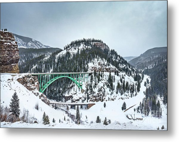 The Call Of The Rockies Metal Print