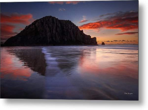 The Calm Returns Metal Print