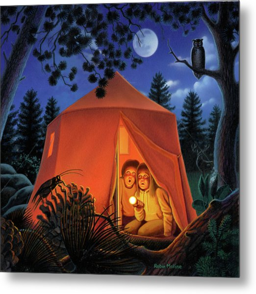 The Campout Metal Print
