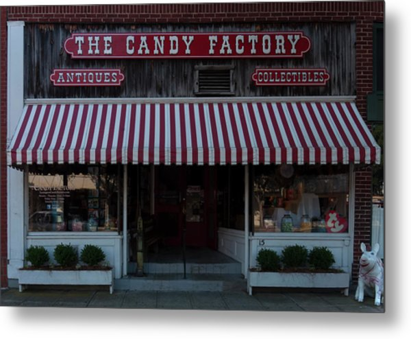 Metal Print featuring the photograph The Candy Factory by Chris Flees