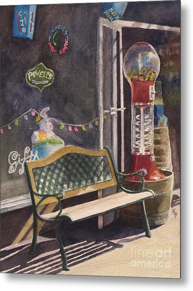 The Candy Shop Metal Print