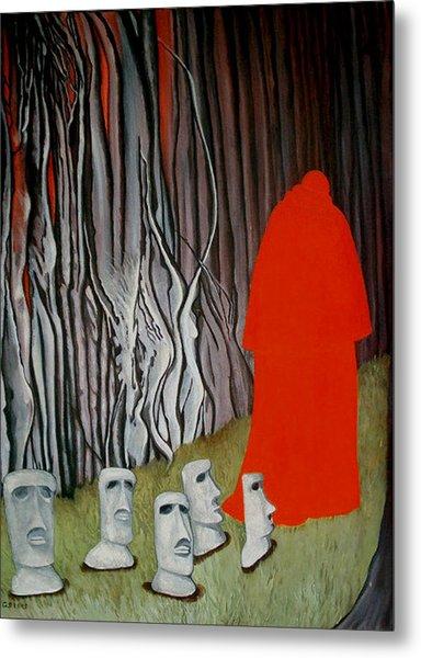 The Cardinal Metal Print by Georgette Backs