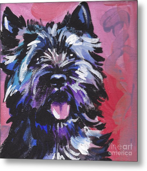 The Caring Cairn Metal Print