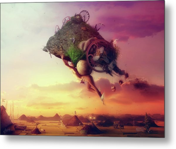 The Carnival Is Over Metal Print