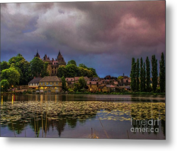 The Castle Of F.r. Chateaubriand Metal Print