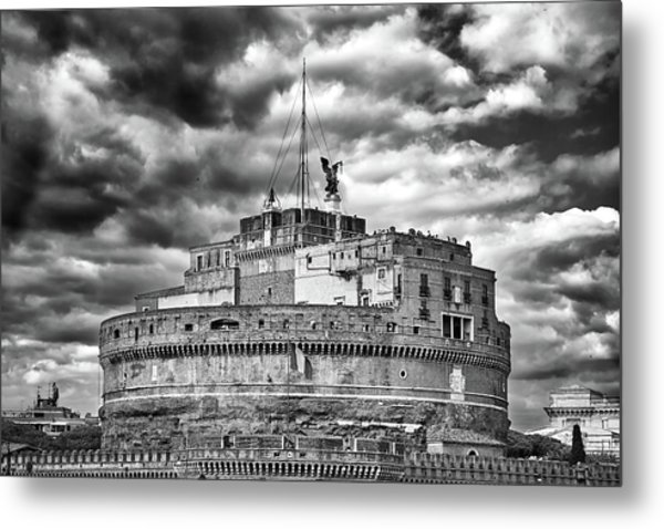 The Castle Of Sant'angelo In Rome Metal Print
