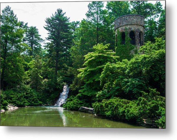 The Castle Tower At Longwood Gardens Metal Print