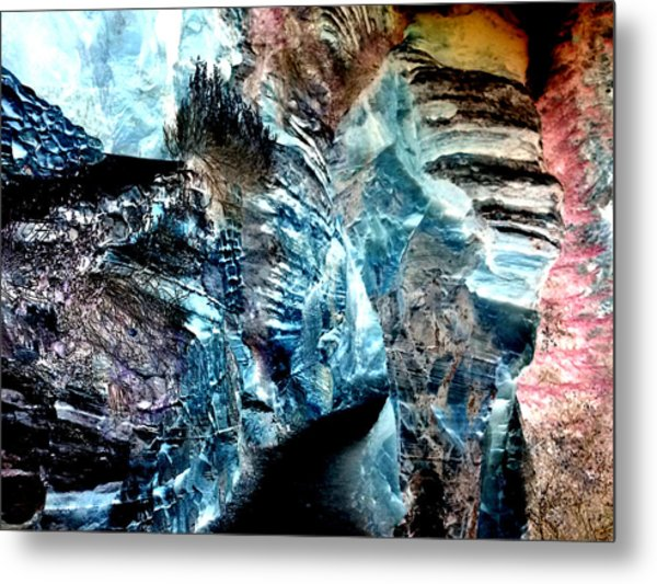 The Caves Of Q'th Metal Print