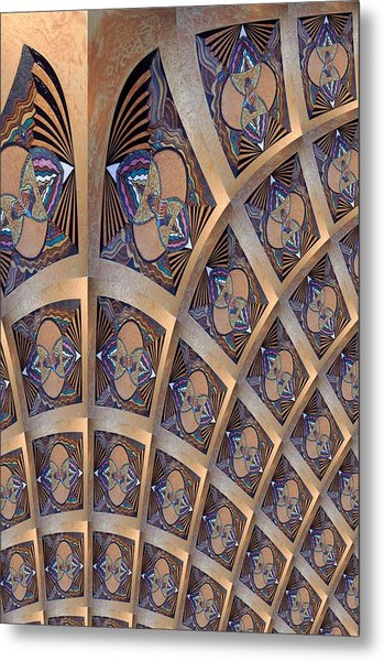 The Ceiling Metal Print by Ricky Kendall