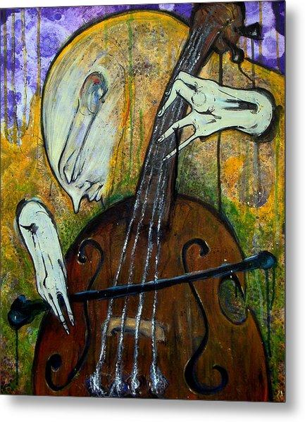The Celloist Metal Print by Mark M  Mellon