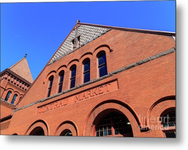 The Central Market Metal Print