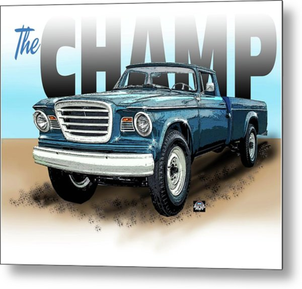 The Champ Metal Print