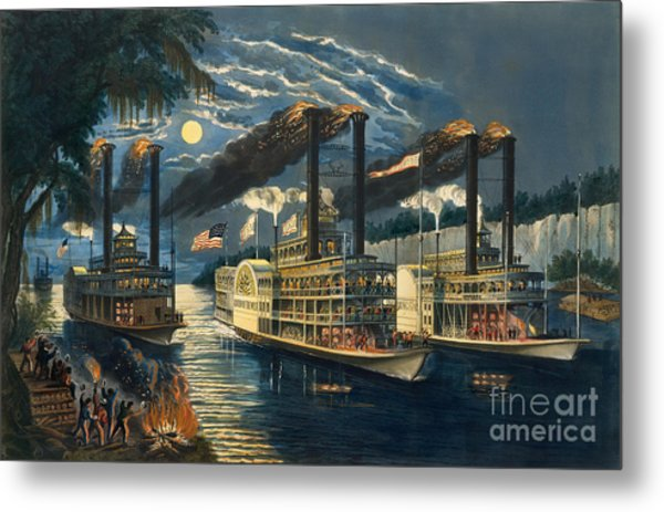 The Champions Of The Mississippi  Metal Print