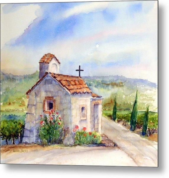 The Chapel - Castello Di Amorosa Metal Print
