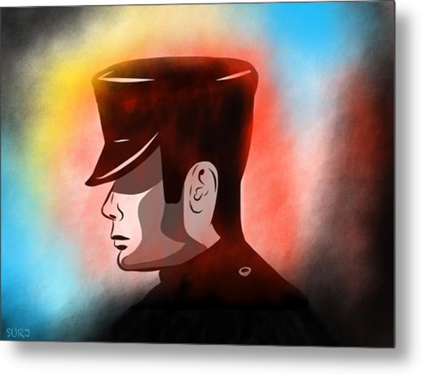 The Chauffeur Metal Print by Surj LA