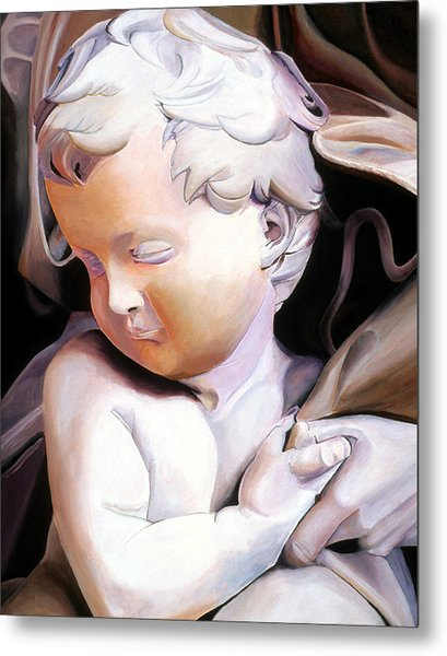 The Child From Michaelangelo Metal Print