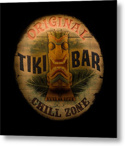The Chill Zone Metal Print