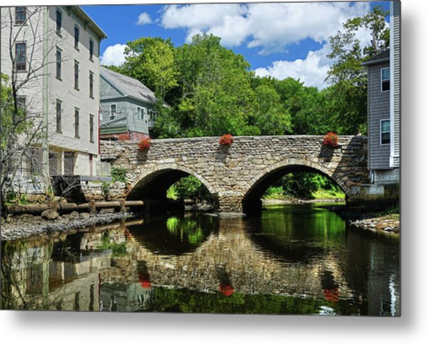 The Choate Bridge Metal Print