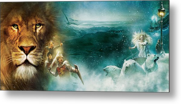 The Chronicles Of Narnia The Lion, The Witch And The Wardrobe Metal Print