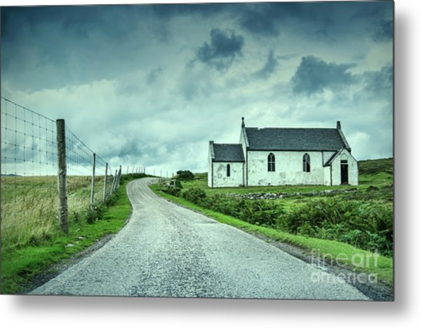 The Church In The Highlands Metal Print