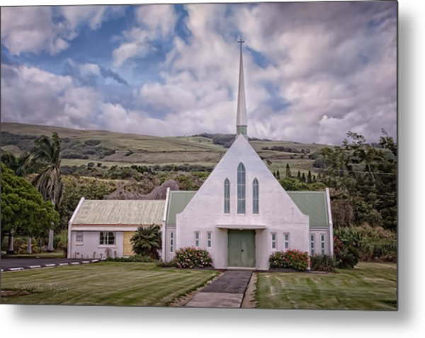 The Church Metal Print