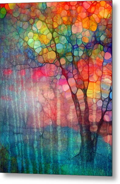 The Circus Tree Metal Print