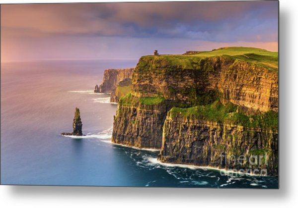 The Cliffs Of Moher - Ireland Metal Print