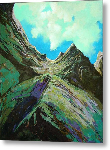 The Climb Metal Print by Dale  Witherow