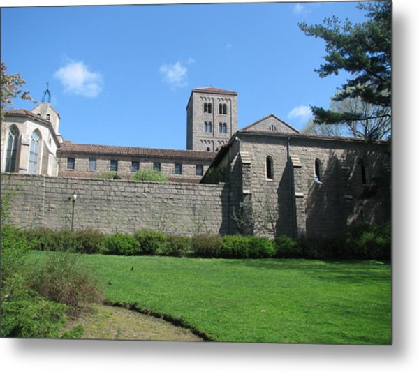 The Cloisters Castle Metal Print by Hasani Blue