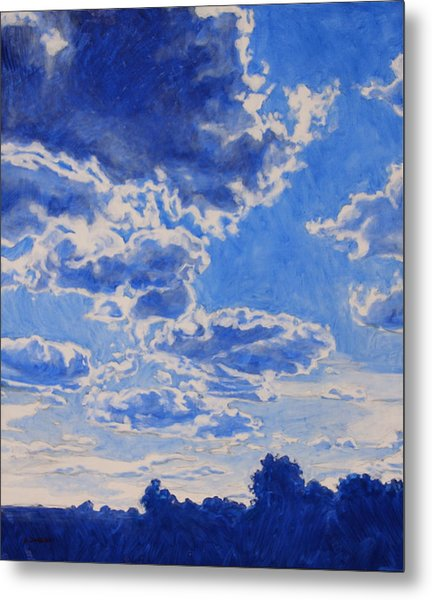 The Cloud Procession Metal Print