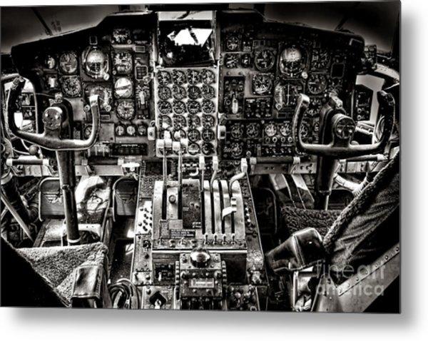 The Cockpit Metal Print