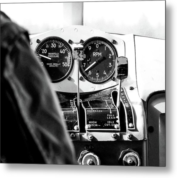 Metal Print featuring the photograph Ready For Takeoff by Rand