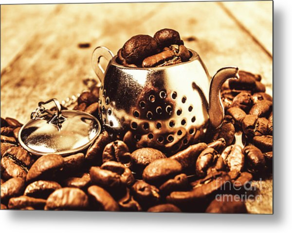 The Coffee Roast Metal Print