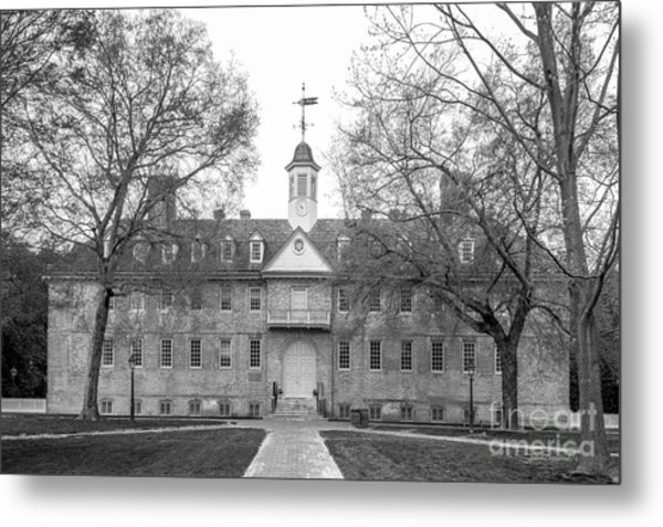 The College Of William And Mary Wren Building Metal Print