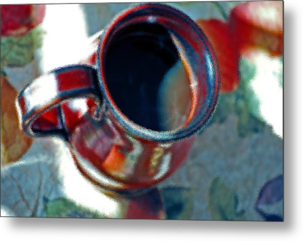The Color Of Coffee Metal Print