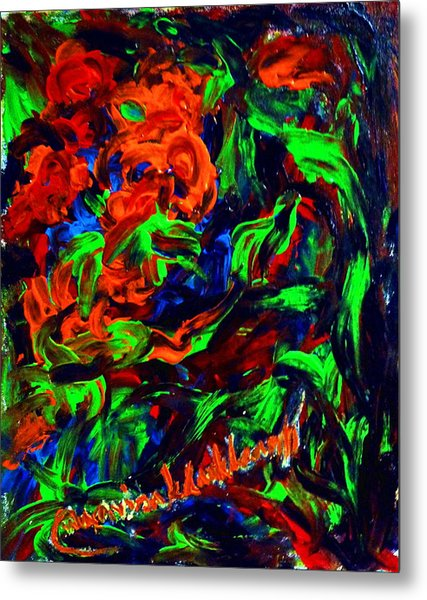 The Color Of My Love World. Metal Print