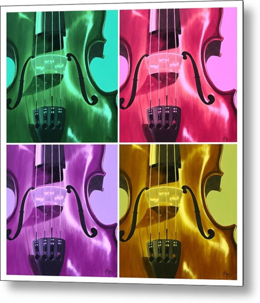 The Colors Of Sound Metal Print